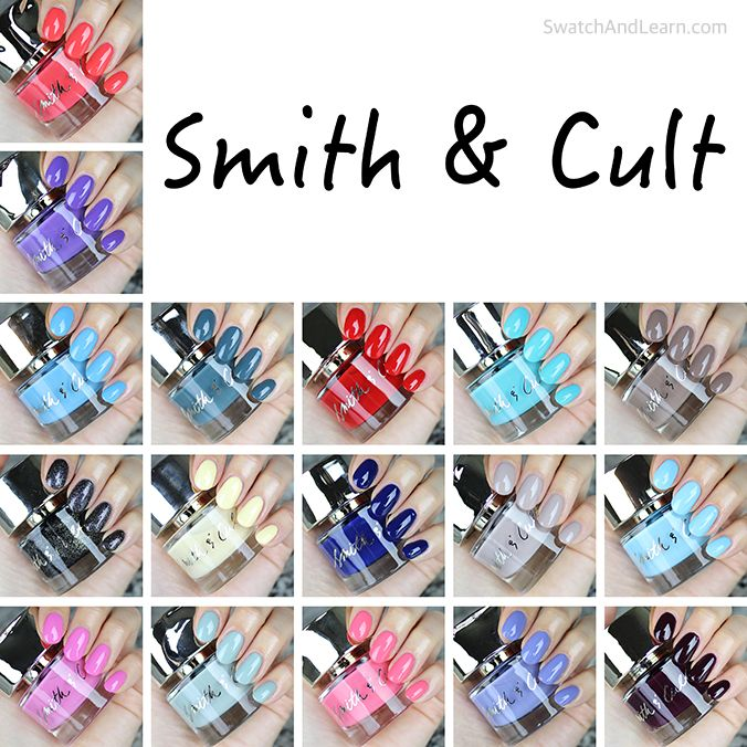 8bf1faeb5250c Colour your world with Smith   Cult nail polish! (See swatches of 17 shades  plus read a review on SwatchAndLearn.com.)