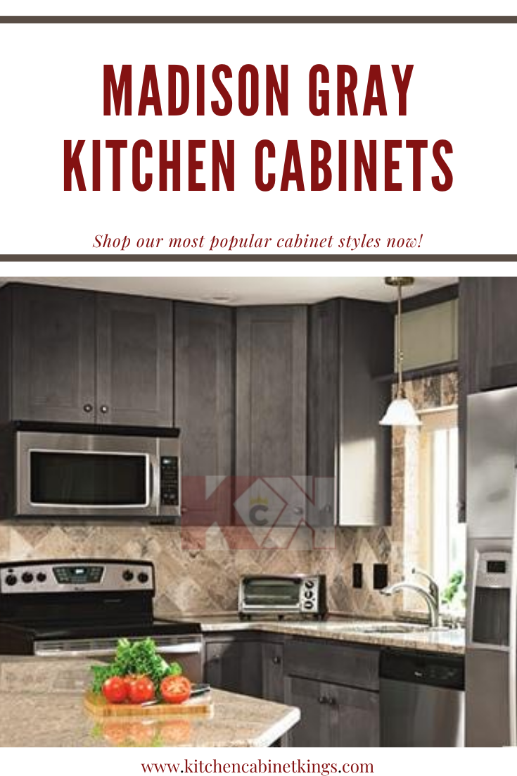 Madison Gray American Made Kitchen Cabinets In 2020 Assembled Kitchen Cabinets Kitchen Cabinets Kitchen Cabinet Kings