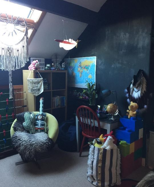the boo and the boy: nicola's sons' rooms