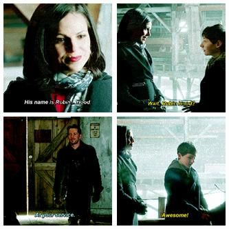 """""""His name is Robin... Hood."""" """"Awesome!"""""""