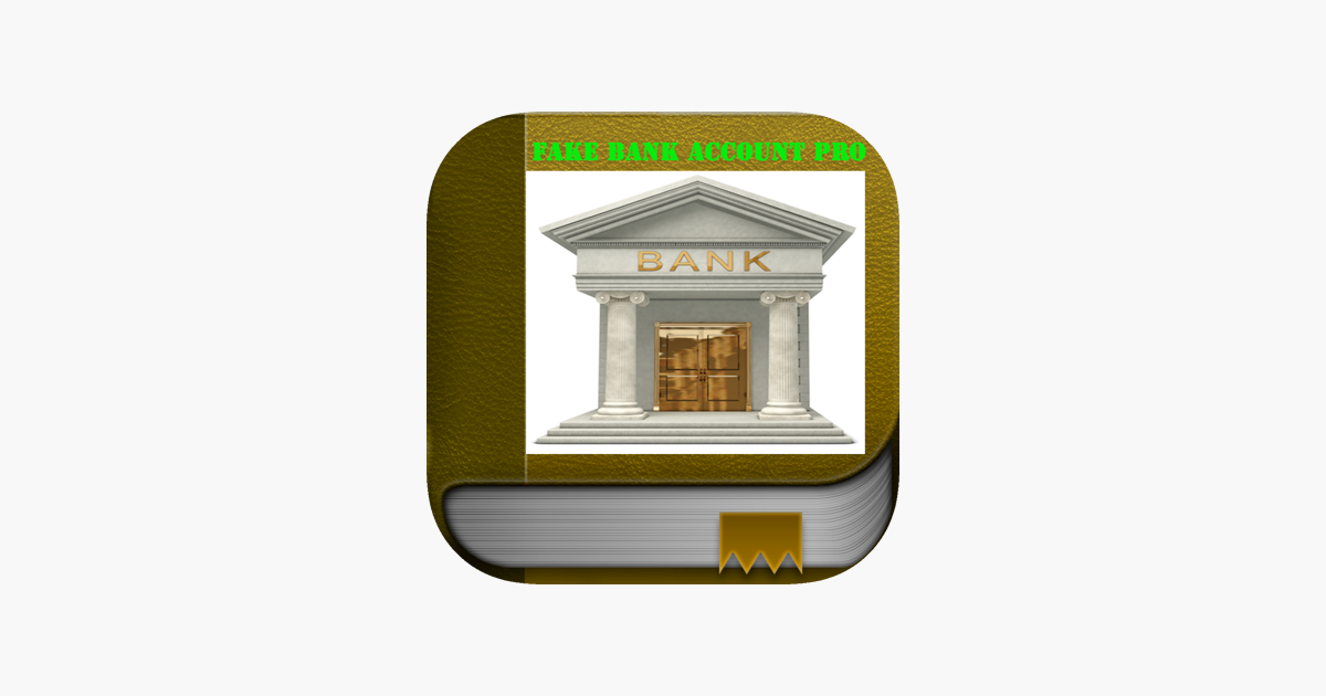 The best Fake Bank Account ever. Create Bank Account for