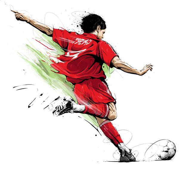 Deportes Ilustrados Por Tomasz Usyk Dibujos Deportivos Dibujos De Futbol Arte De Futbol
