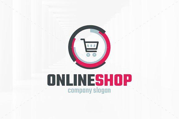 Online Shop Logo Template Templates The Online Shop Logo