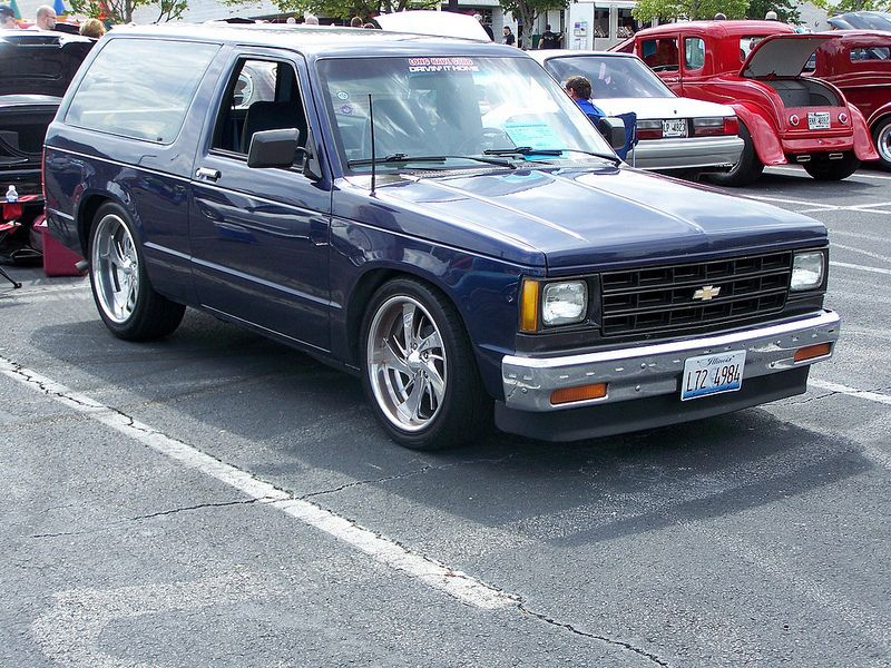 1987 Chevy S 10 Blazer Chevy S10 Chevy Chevy Trucks