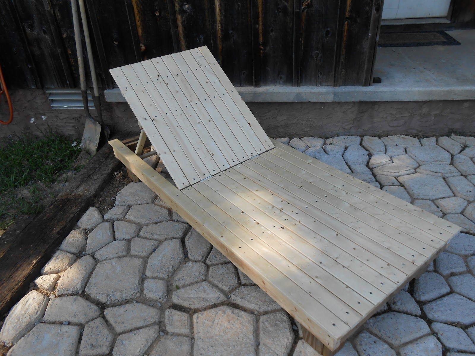 diy wooden patio lounge chair diy pinterest garten und haus. Black Bedroom Furniture Sets. Home Design Ideas