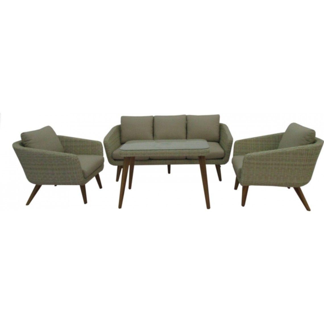 Inredning teak utemöbler : Sofagruppe Sabina 2+1+1 | Utemøbler | Pinterest | Teak