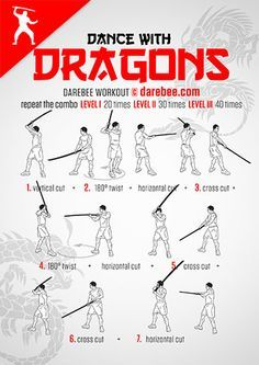 dance with dragons workout  mma  martial arts martial
