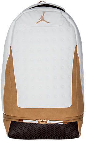 d465736f3b1c4f Nike Air Jordan Retro 13 Suede Backpack (affiliate)