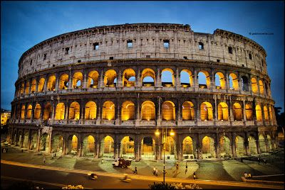 The Colosseum is probably the most impressive building of the Roman Empire. Originally known as the Flavian Amphitheater, it was the largest building of the era.