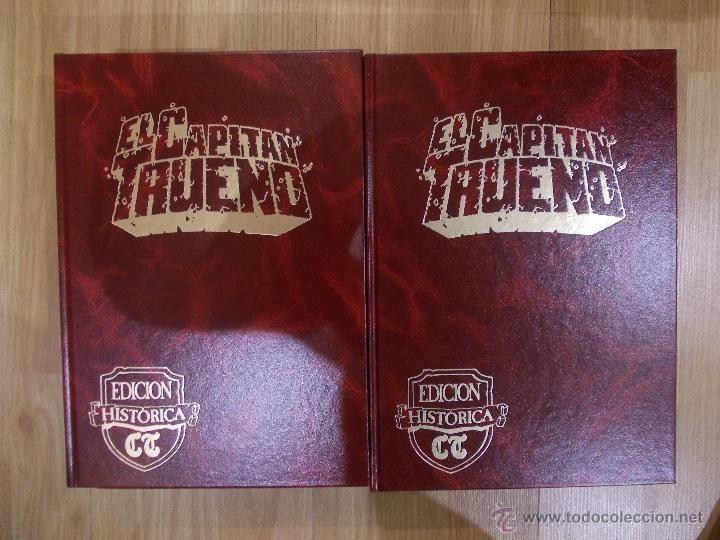 EL CAPITAN TRUENO, EDICION HISTORICA, EDICIONES B-8 TOMOS-148 TEBEOS-A TODO COLOR / Capitán Trueno en todocoleccion