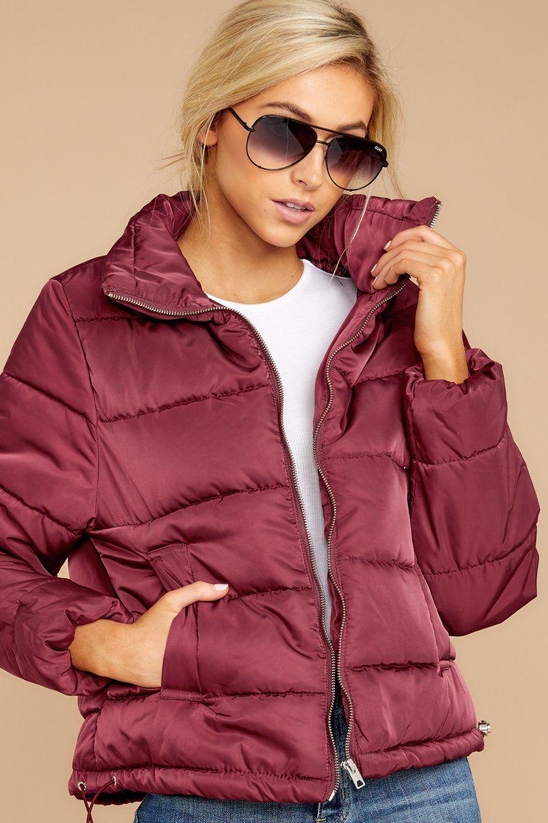 Posh Purple Puffer Jacket Cozy Quilted Winter Jacket Coat 38 00 Red Dress Boutique Red Puffer Jacket Red Dress Sweaters For Women [ 1200 x 800 Pixel ]