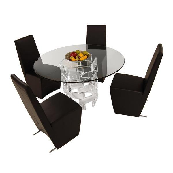 El Dorado Furniture  Staxcynthia 5Piece Casual Dining Set Captivating Eldorado Dining Room Design Decoration