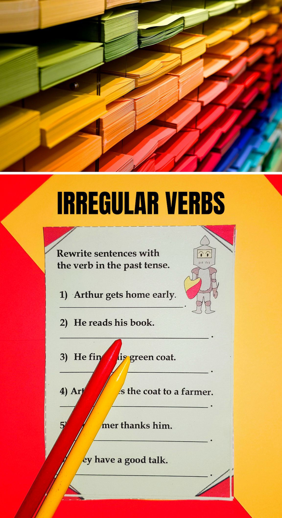 Irregular And Regular Past Tense Verbs