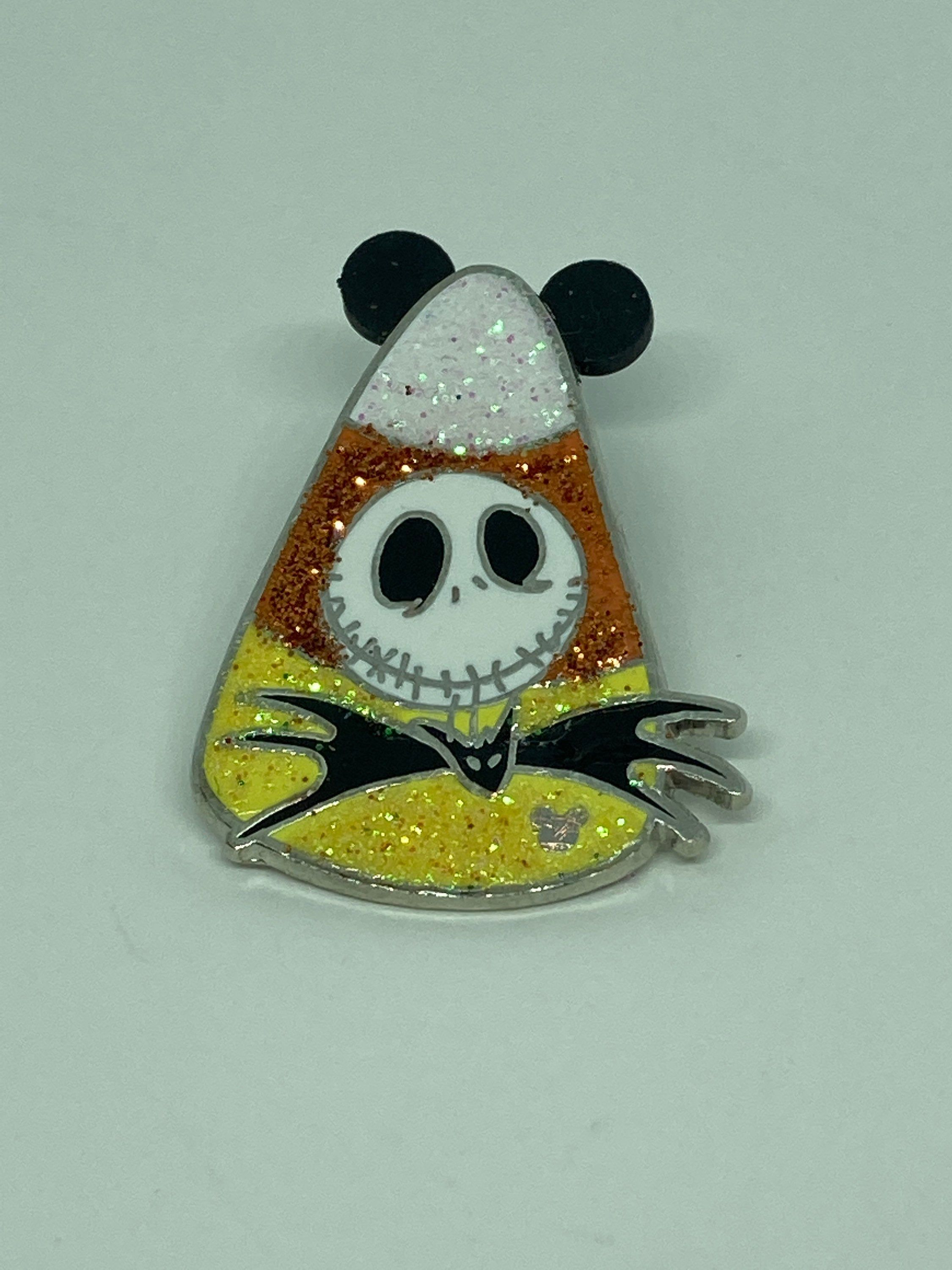 2021 Nightmare Before Christmas Trading Pin Jack Skellington Candy Corn Trading Pin Candy Corn Jewelry Etsy In 2021 Candy Corn Jack Skellington Disney Pin Collections