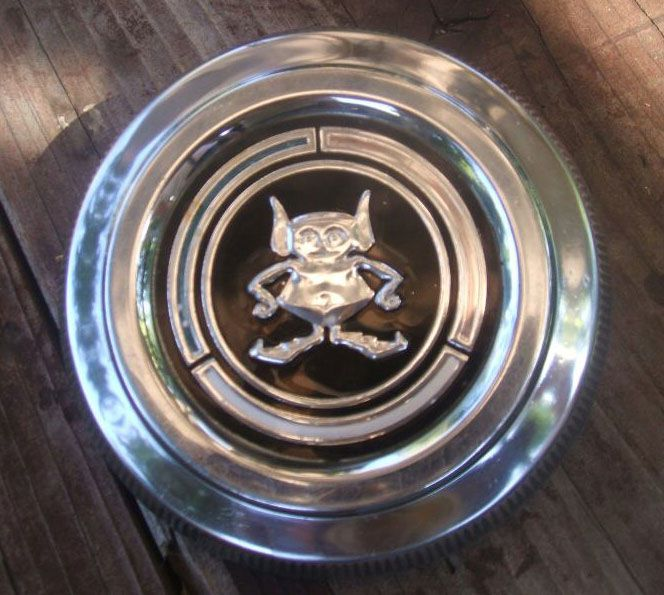 1970 gremlin gas cap: these were stolen right off parked cars