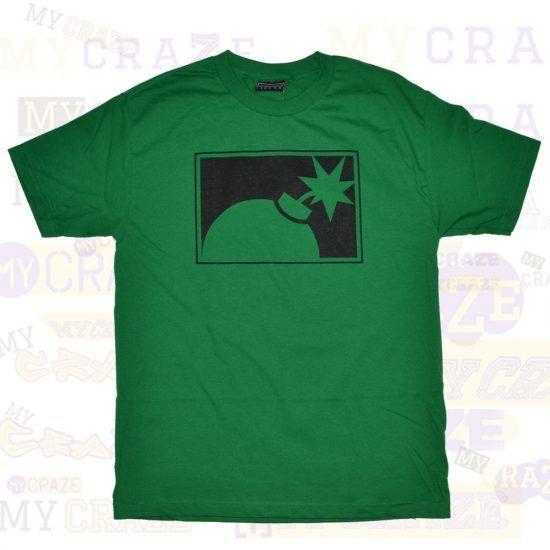 THE HUNDREDS FOREVER HALF BOMB HALFBOMB SKATER SKATE GREEN T-SHIRT #TheHundreds #TShirt #Skatewear #Streetwear
