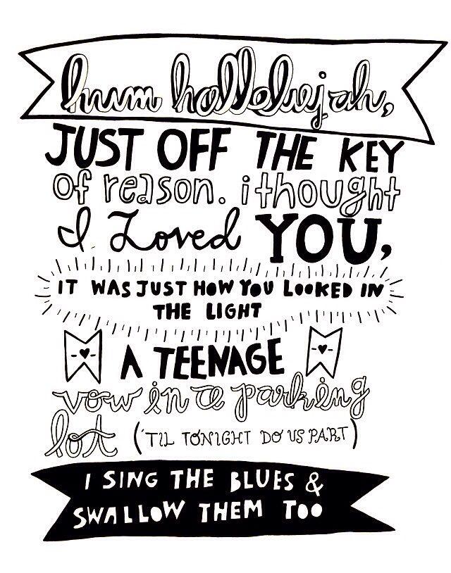 Fall out boy lyrics Hum hallelujah