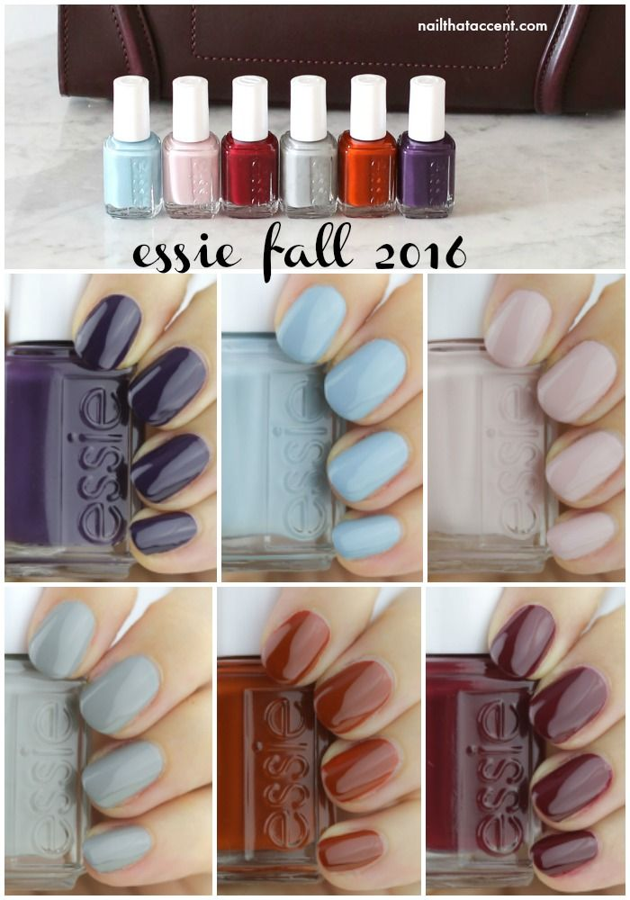 essie fall 2016 swatches and review @essiepolish #essie ...