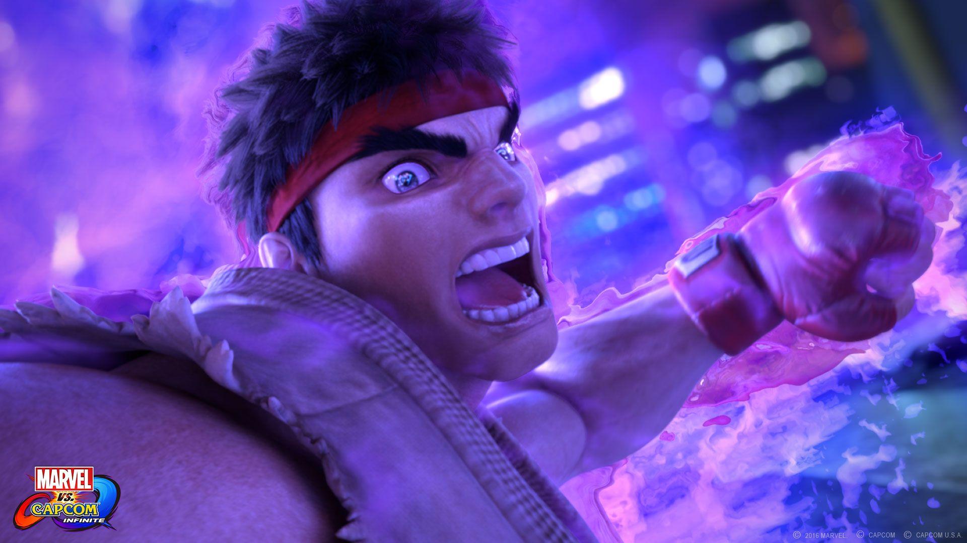 Awesome Ryu Marvel Vs Capcom Infinite Wallpaper Marvel Vs