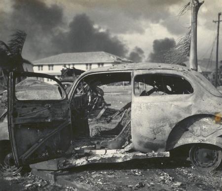 Destroyed Car, Jap Attack, Pearl Harbor 1941 | Pearl | Pearl harbor