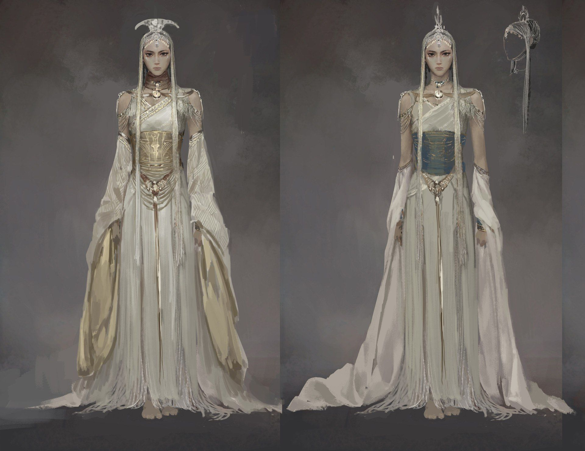 Concept Art In 2019 Fantasy Gowns Costume Design Fantasy