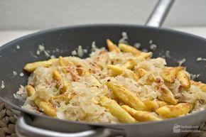 Schupfnudelpfanne mit Sauerkraut und Speck - Madame Cuisine