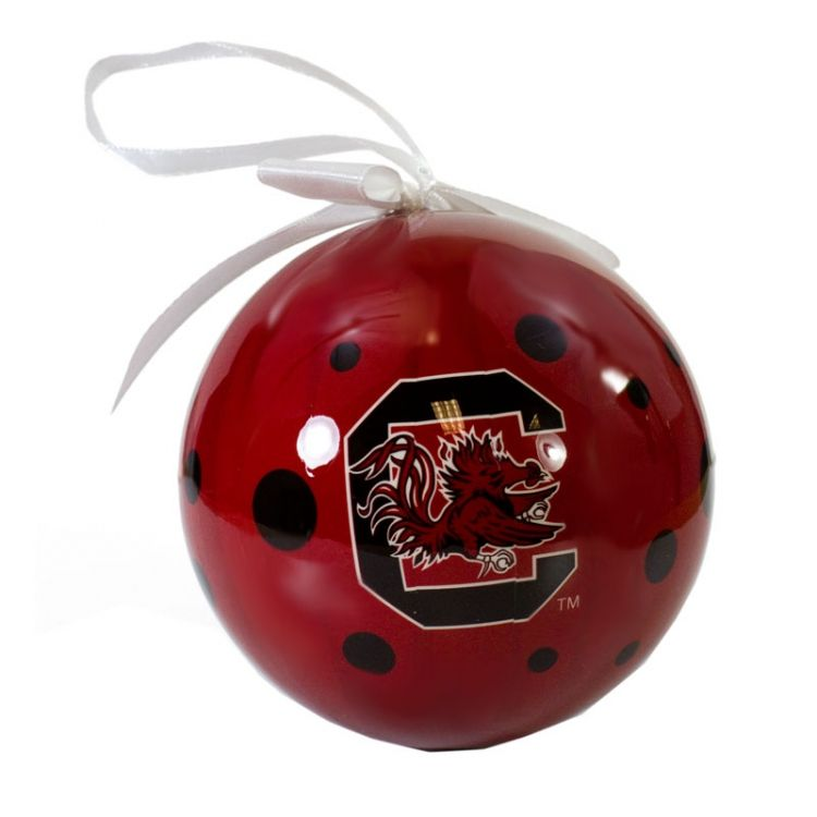 HandPicked: Polka Dot Gamecock Ornament