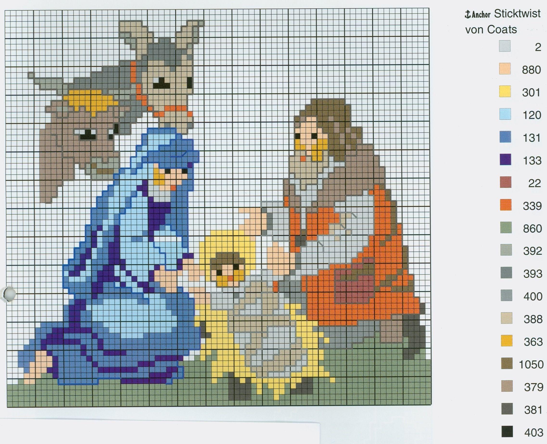 Nativity (Part 4) Free Cross Stitch Pattern From Wwwcoatscraftpl