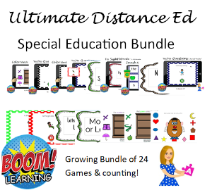 Ultimate Special Education Distance Learning Set