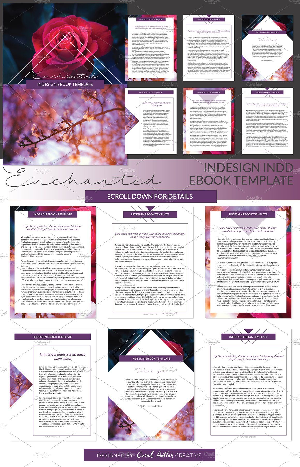 Enchanted Indesign Ebook Template - Presentations - 1 | WEBSITE ...