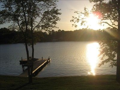 Dadeville Vacation Rental - VRBO 342839 - 2 BR Lake Martin House in AL, Private Point Lot Offers 650 Ft of Shoreline, Deep Water Dock