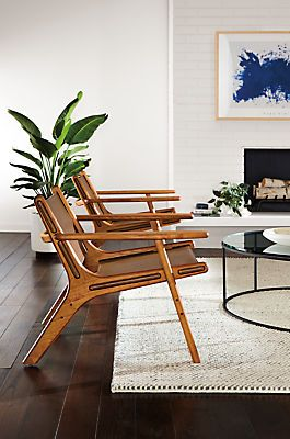 Lars Leather Lounge Chair Modern Accent Lounge Chairs Modern