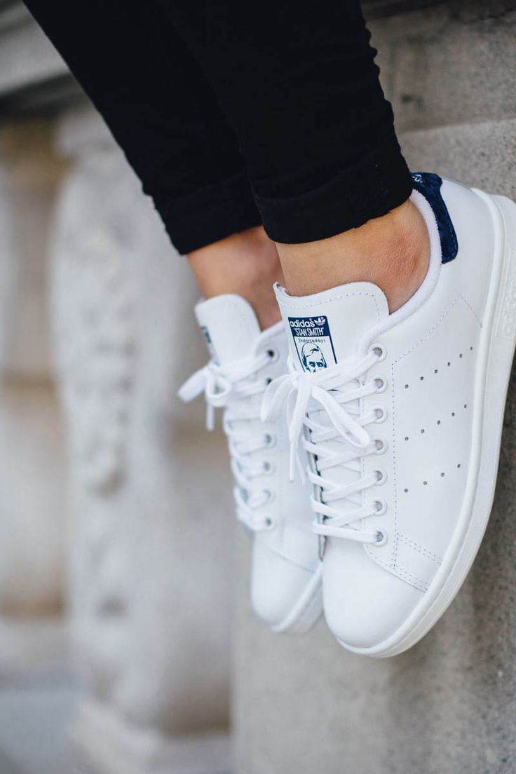 0be42603421 Sneakers | Summer shoes | Adidas Stan Smith | Blue | More on Fashionchick