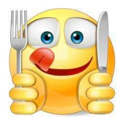 Ready to Eat! | Smiley, Funny emoji, Emoticon