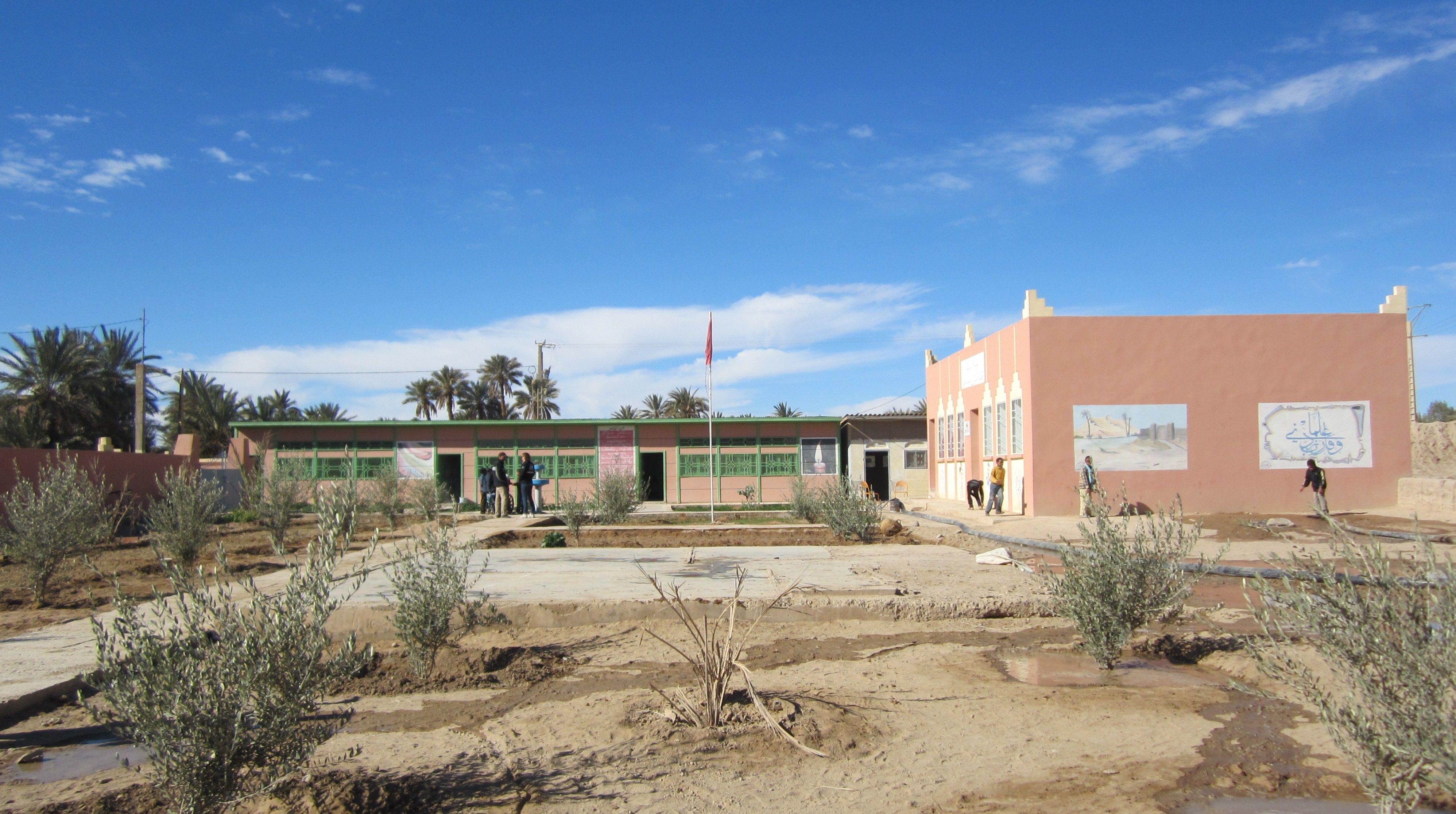 La belle école du Ksar Dahbia Association Enfants du désert