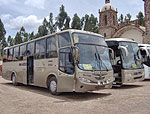 bus from Cuzco to Puno