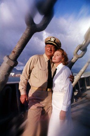 IN HARM'S WAY - John Wayne & Patricia Neal - Directed by Otto Preminger