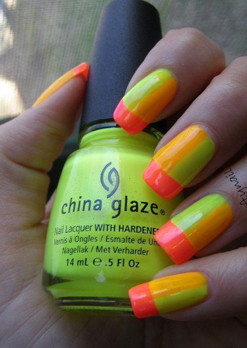 Best Neon Nail Polishes - Our Top 10   Decoración de uñas, Uñas ...