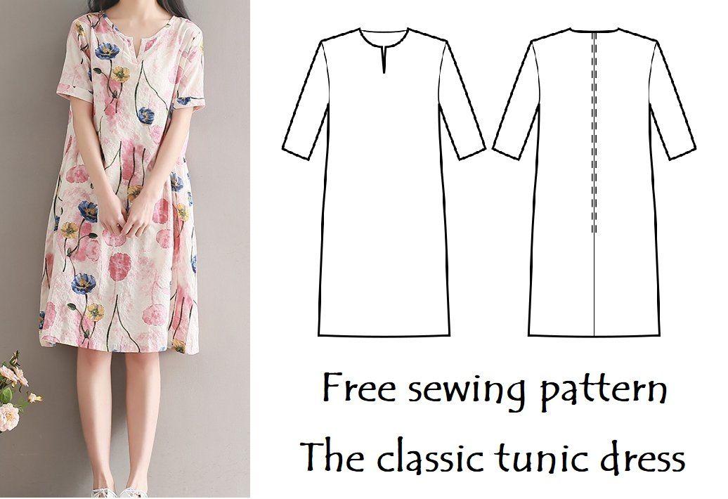 The Little Sewist: The classic tunic dress pattern