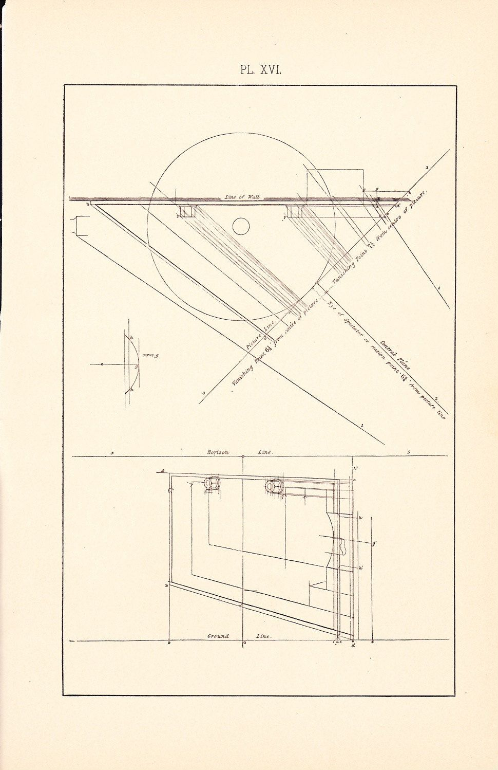 1886 Technical Drawing   Antique Math Geometric Mechanical Drafting Interior  Design Blueprint Art Illustration Framing 100 Years Old. $12.00, Via Etsy.