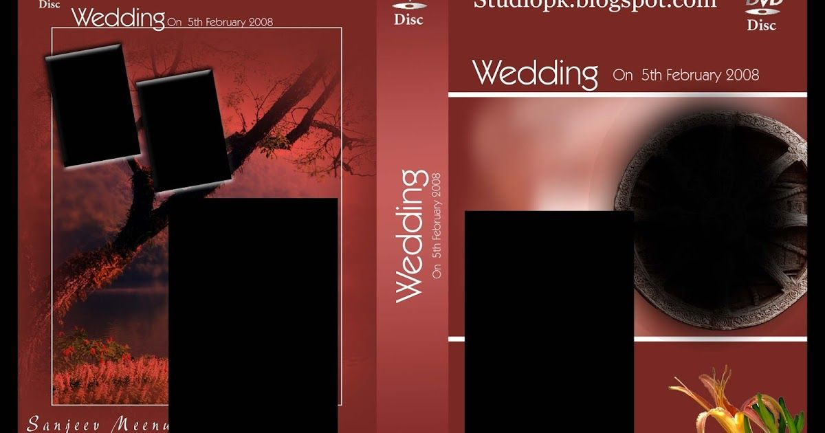 27 Wedding Dvd Cover Psd Templates Free Download
