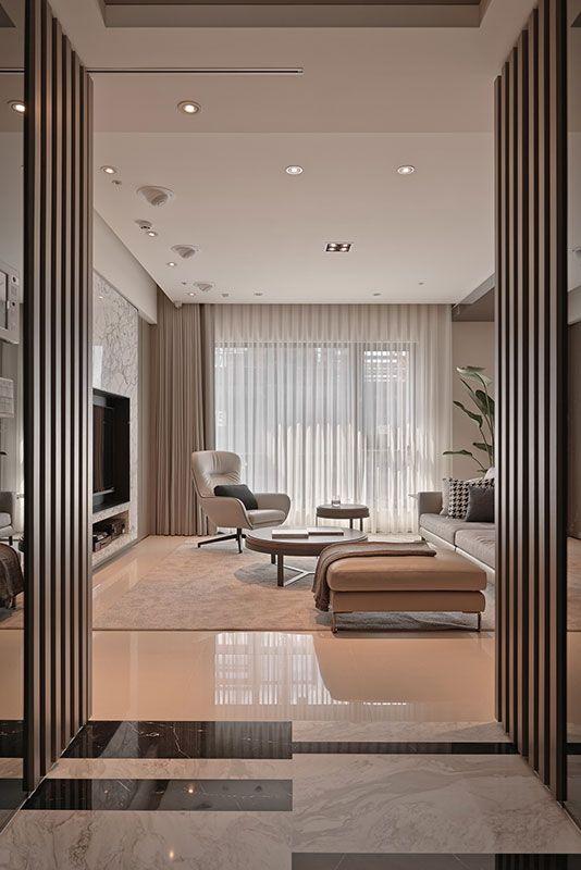 Une pièce à vivre luxueuse design d\u0027intérieur, décoration, maison