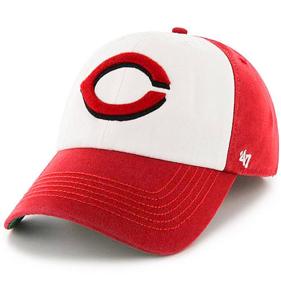 Men's Cincinnati Reds '47 Red/White Freshman Franchise