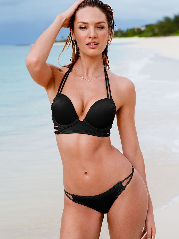 499c8d376461c The Bombshell Add-2-Cups Push-Up Halter - Bombshell Swim Tops - Victoria s  Secret