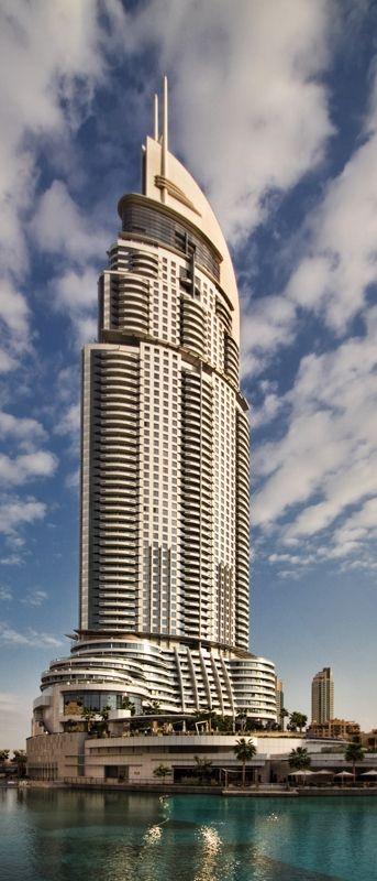 The Address The BLVD Tower, Dubai, UAE :: 72 Floors