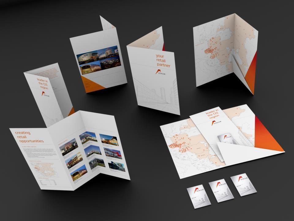 Atrium European Real Estate Marketing collateral Folders - resume folders