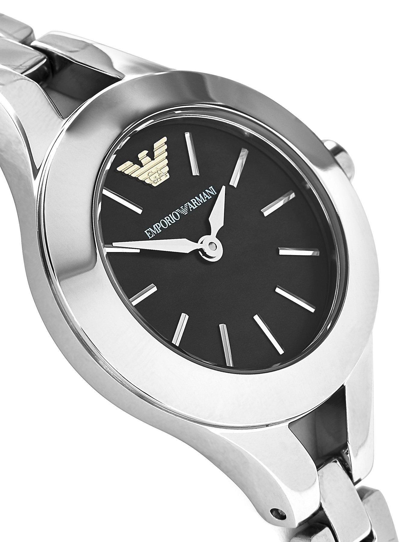 Emporio Armani Contrast Dial Mesh Strap Watch - NEW IN!