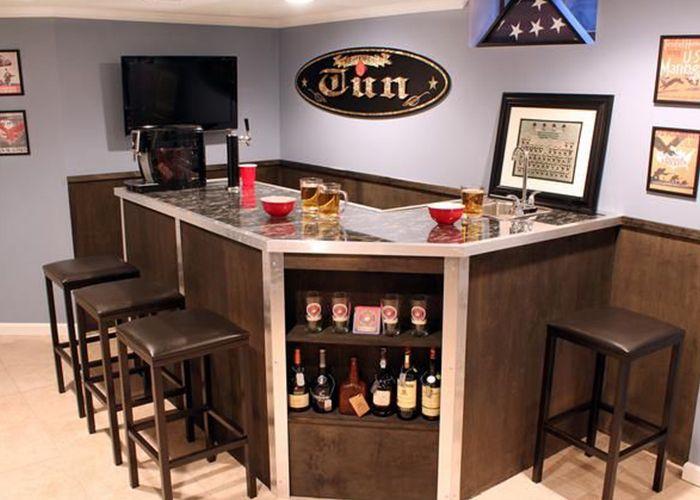 Bar in je huis wonen voor mannen huisbar bar