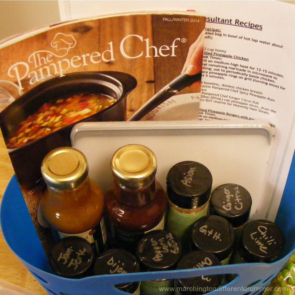 Pampered Chef Pantry Package Freezer Meal Workshops