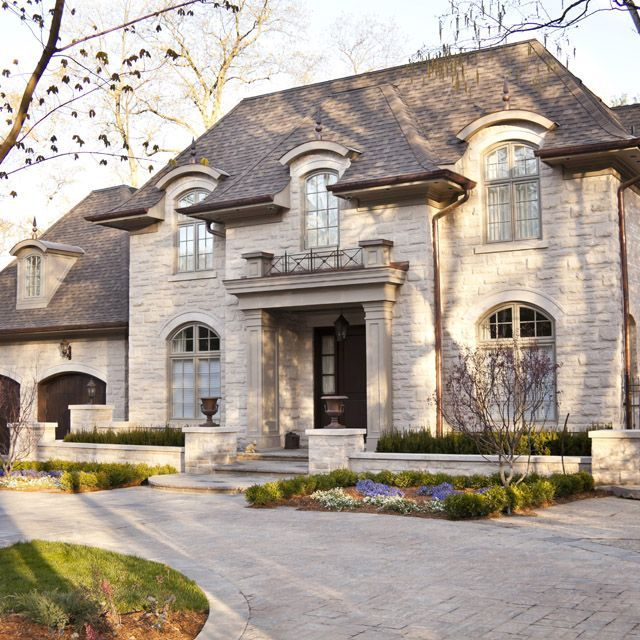 Award Winning Luxury House Plan: French Chateau